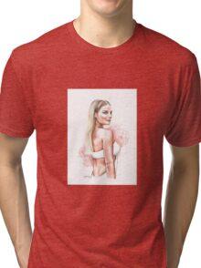 Margot x Flowers Tri-blend T-Shirt