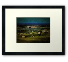 South Downs View Framed Print