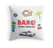 Mac Miller Dang! Throw Pillow