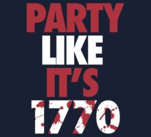 Party Like It's 1770 Kids Clothes
