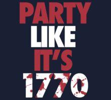 Party Like It's 1770 by vsquaredddd