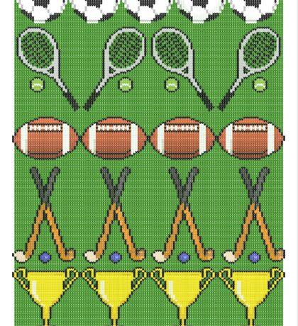Sporty Knit Sticker