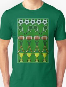 Sporty Knit Unisex T-Shirt