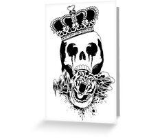 Royal Skull Ink Greeting Card