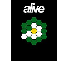 alive HEXAGONSUN Photographic Print