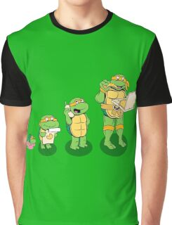Family Turtles Graphic T-Shirt