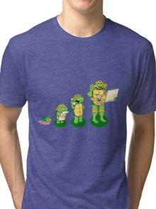 Family Turtles Tri-blend T-Shirt