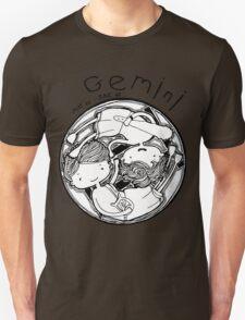 Zodiac Signs: Gemini Unisex T-Shirt