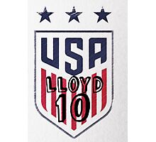 Carli Lloyd USA design Photographic Print