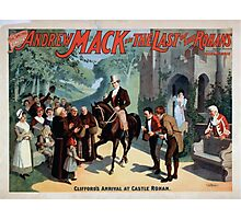 Performing Arts Posters The singing comedian Andrew Mack in the The last of the Rohans by Ramsay Morris 1110 Photographic Print
