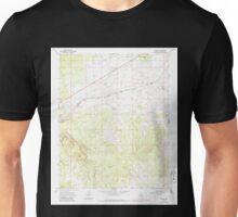 USGS TOPO Map Arizona AZ Truxton 313793 1968 24000 Unisex T-Shirt