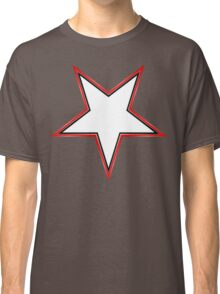 Inverted Bordered Star Classic T-Shirt