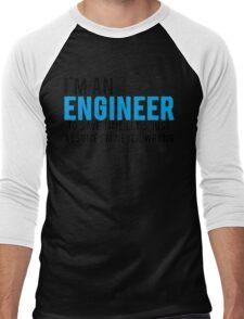 Trust Me Im An Engineer Men's Baseball ¾ T-Shirt