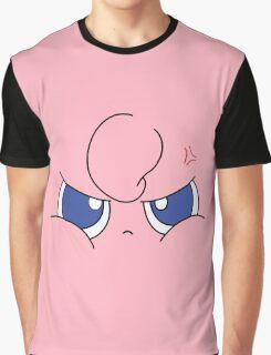 JigglyJigglyFace Graphic T-Shirt