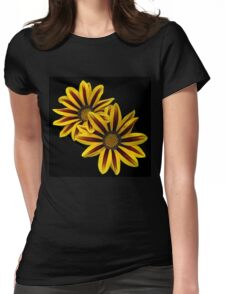 Treasure Flowers Womens Fitted T-Shirt