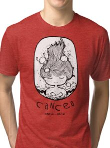 Zodiac Signs: Cancer Tri-blend T-Shirt