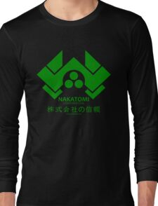 NAKATOMI PLAZA - DIE HARD BRUCE WILLIS (GREEN) Long Sleeve T-Shirt