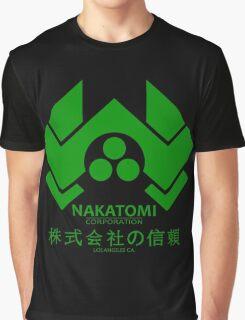 NAKATOMI PLAZA - DIE HARD BRUCE WILLIS (GREEN) Graphic T-Shirt