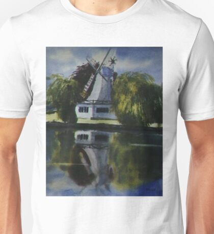 Windmill In The Willows Unisex T-Shirt