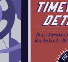 Timey Wimey Machine - Doctor Approved! Sticker
