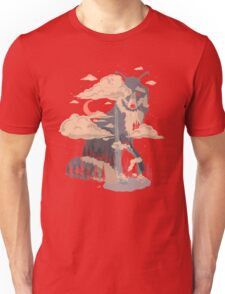 At the Foot of Fox Mountain... Unisex T-Shirt