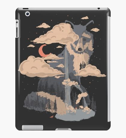 At the Foot of Fox Mountain... iPad Case/Skin