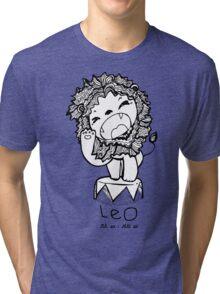 Zodiac Signs: Leo Tri-blend T-Shirt