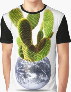 whole world is a cactus Graphic T-Shirt