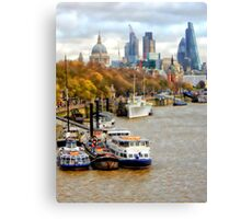 View to St Pauls Canvas Print