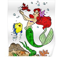Ariel and Friends Poster