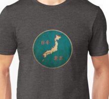 Vintage map of Japan Unisex T-Shirt