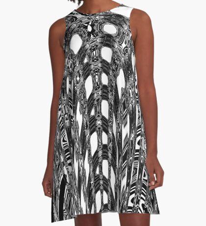 Distortion 3 A-Line Dress