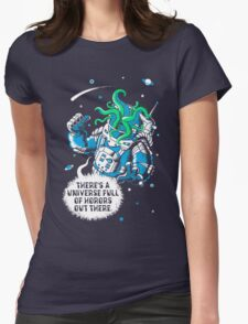 Cosmic Horror Womens Fitted T-Shirt