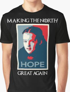 Making the north great again - GoT Graphic T-Shirt