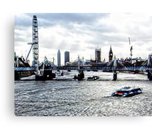 View to Westminster Canvas Print
