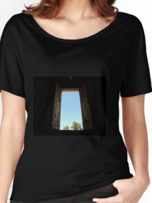 Crypt Window Women's Relaxed Fit T-Shirt