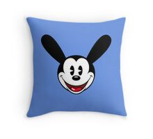 Oswald The Lucky Rabbit Throw Pillow