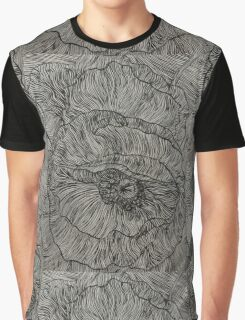 Lines Poppies Graphic T-Shirt