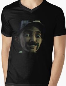 Clementine with Kenny Face (Season 2) Mens V-Neck T-Shirt
