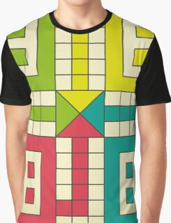 Ludo Game Graphic T-Shirt