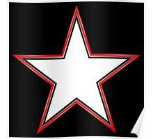 Bordered Star Poster