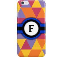 Monogram F iPhone Case/Skin