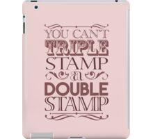 Triple Stamp Light iPad Case/Skin