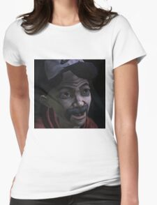 Clementine with Kenny Face (Season 1) Womens Fitted T-Shirt