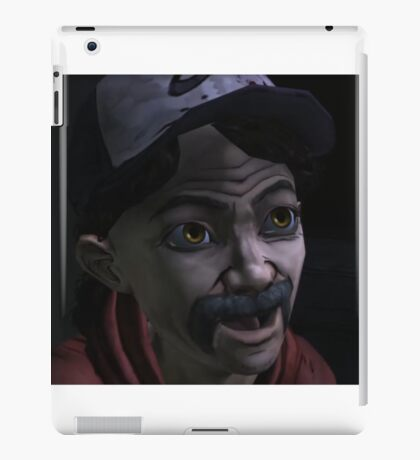 Clementine with Kenny Face (Season 1) iPad Case/Skin