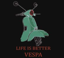 vespa is my life One Piece - Short Sleeve