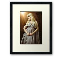Queen of Dragons Framed Print