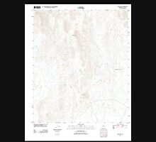 USGS TOPO Map Arizona AZ Red Hill 20111123 TM Unisex T-Shirt