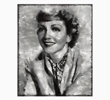 Claudette Colbert Vintage Hollywood Actress Unisex T-Shirt