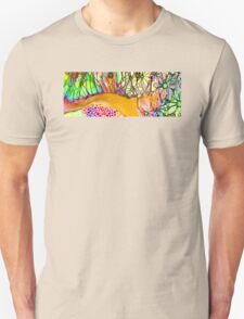 Wild Flowers Abstract Art - Sharon Cummings Unisex T-Shirt